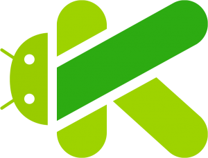 android and Kotlin LOGO